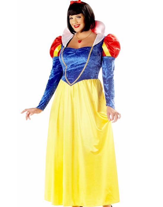 Fairytale Disney Snow White Adult Plus Size Halloween Costume 3XL