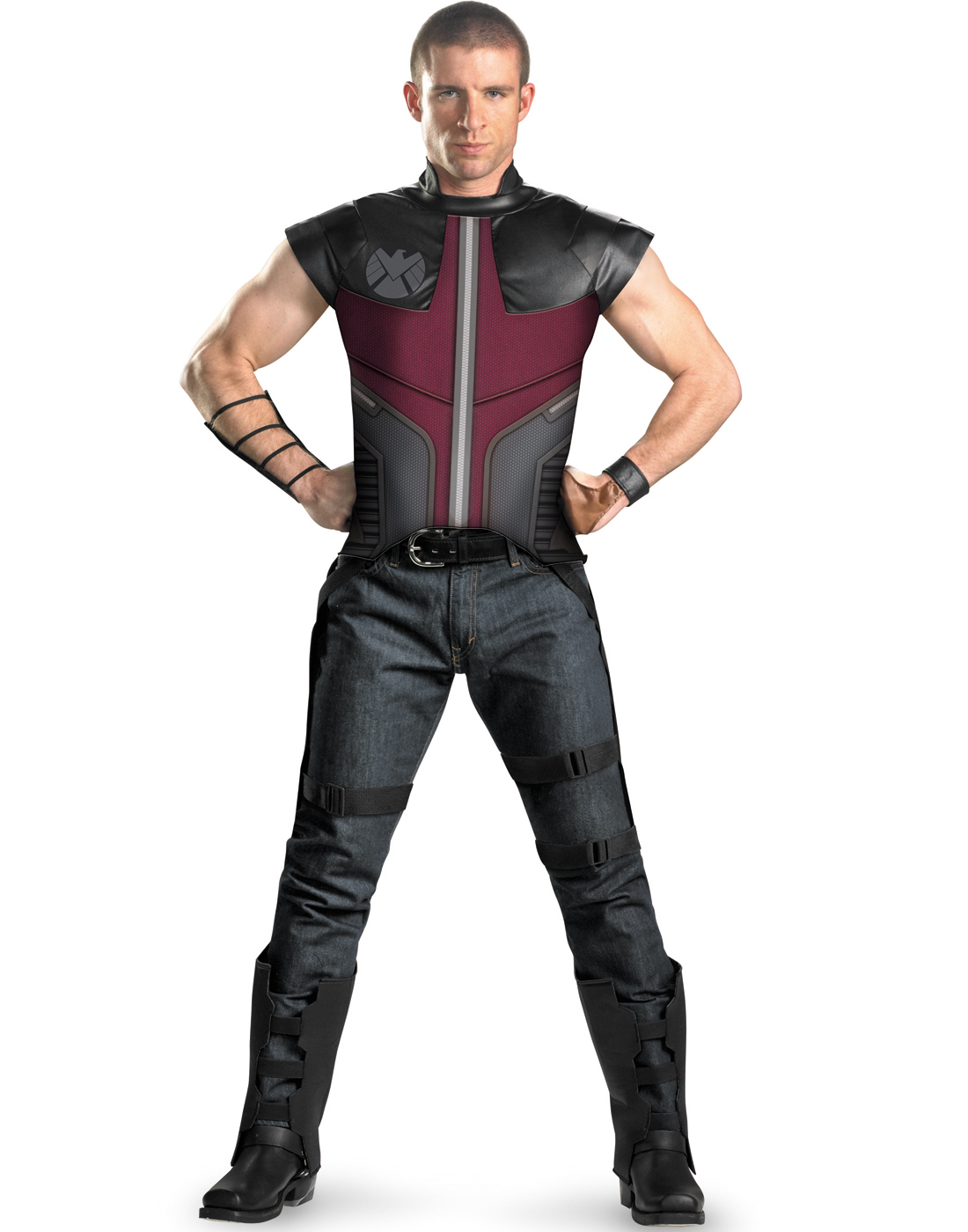 Hawkeye The Avengers Deluxe Plus Size Marvel Halloween ...