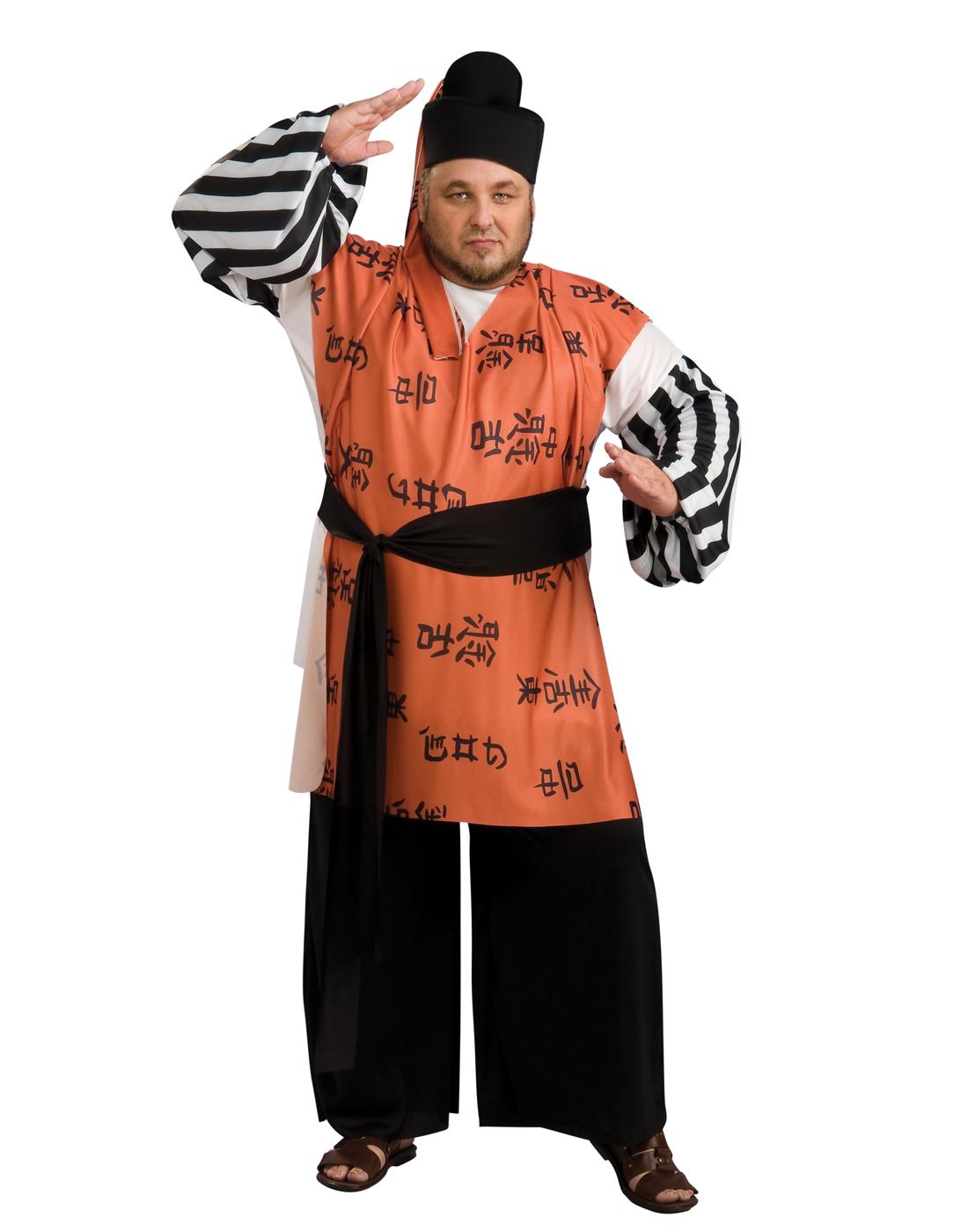 Как сделать костюм самурай 201