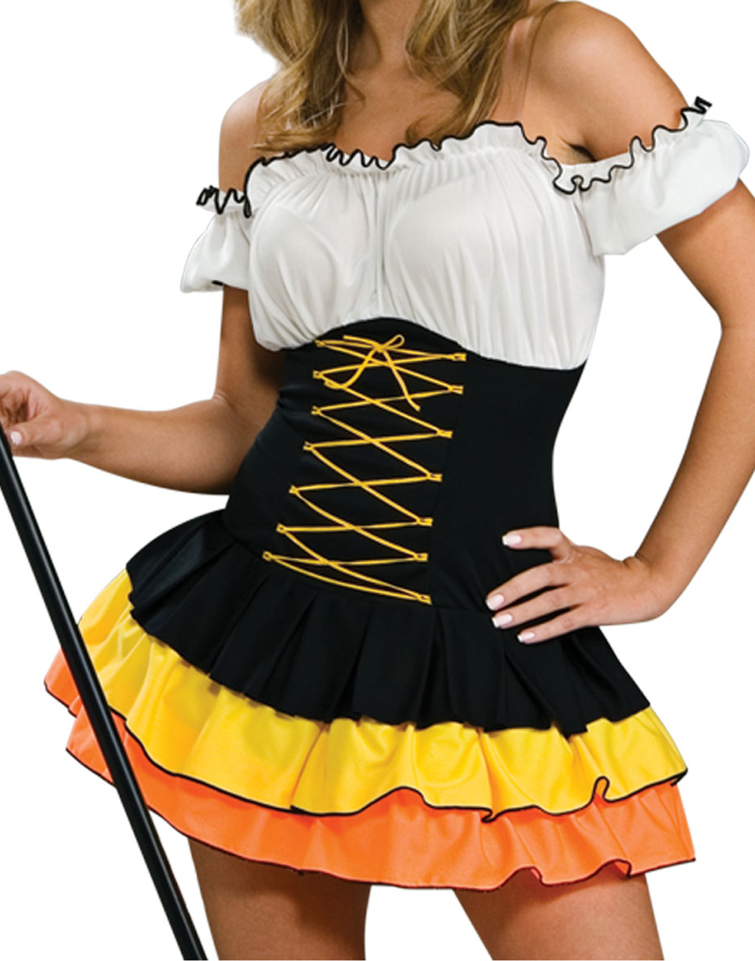 Variants are Adult candy corn costume halloween
