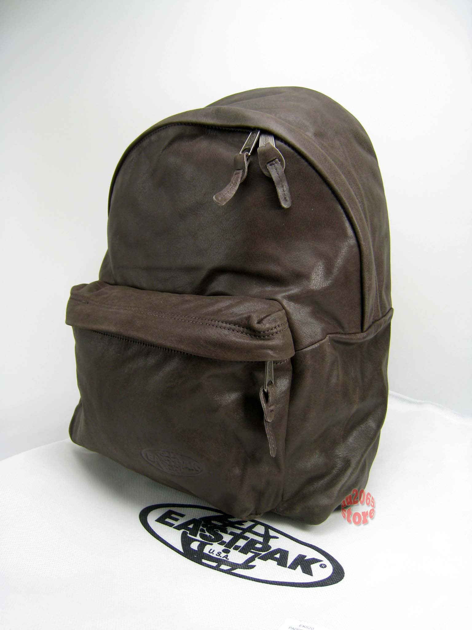 Leather Eastpak Backpack | Os Backpacks