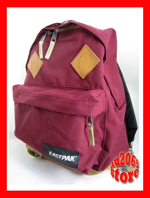 Details about Eastpak Padded Backpack RETURNITY RED School Bag