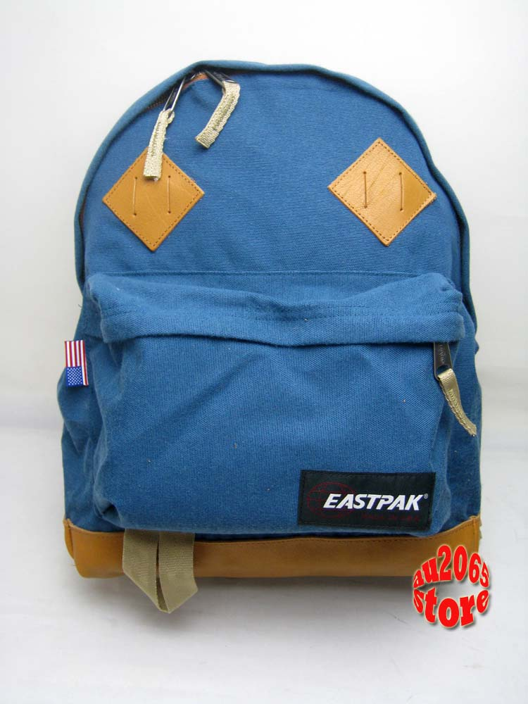 ... about Eastpak Padded Backpack RETURNITY BLUE School Bag MADE IN USA
