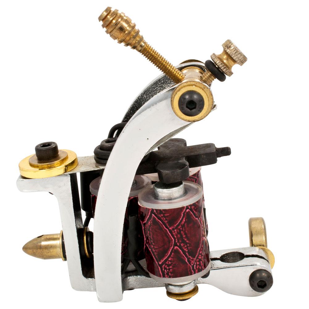 Triple coil tattoo machine cast iron liner shader h7 ebay for Tattoo machines ebay