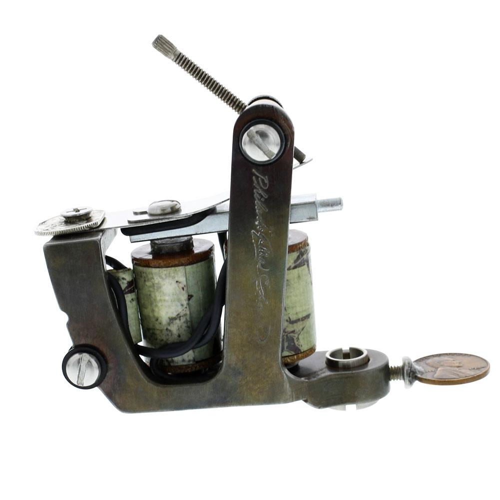 Philadelphia eddie 39 s percy waters brass shader tattoo for Shader tattoo machine