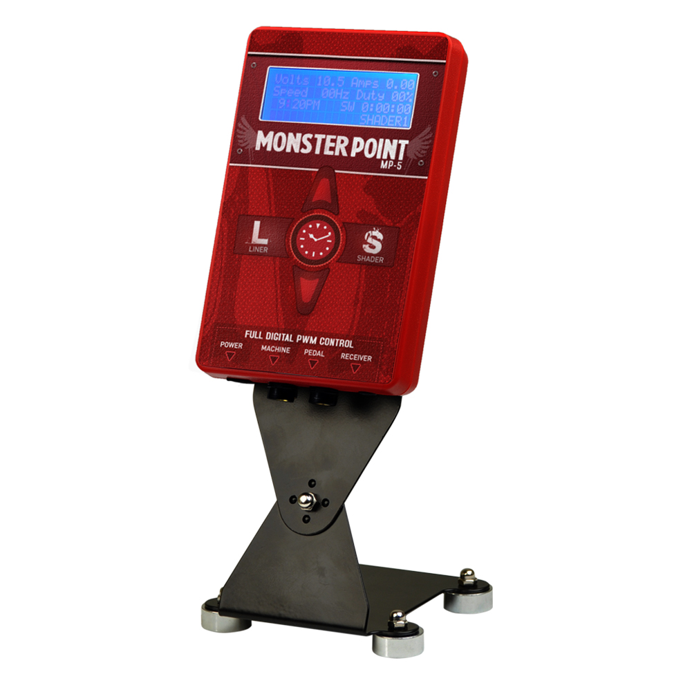 monster point dual tattoo power supply digital display ebay