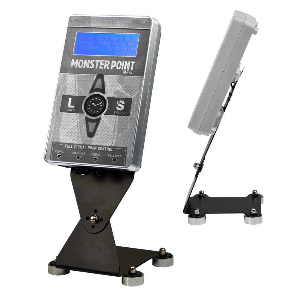 Monster point dual tattoo power supply digital display ebay for Best tattoo power supply