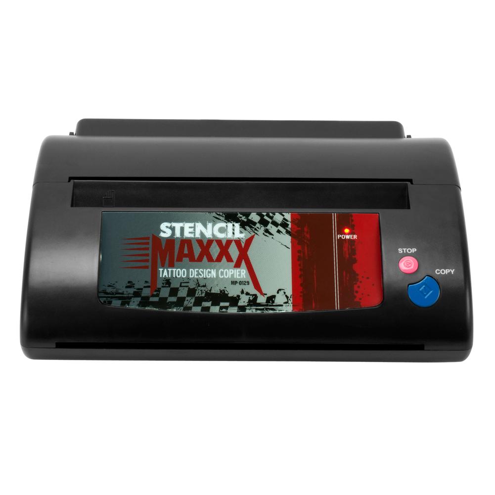 Tattoo stencil maker copier hectograph transfer thermal for Tattoo stencil copier