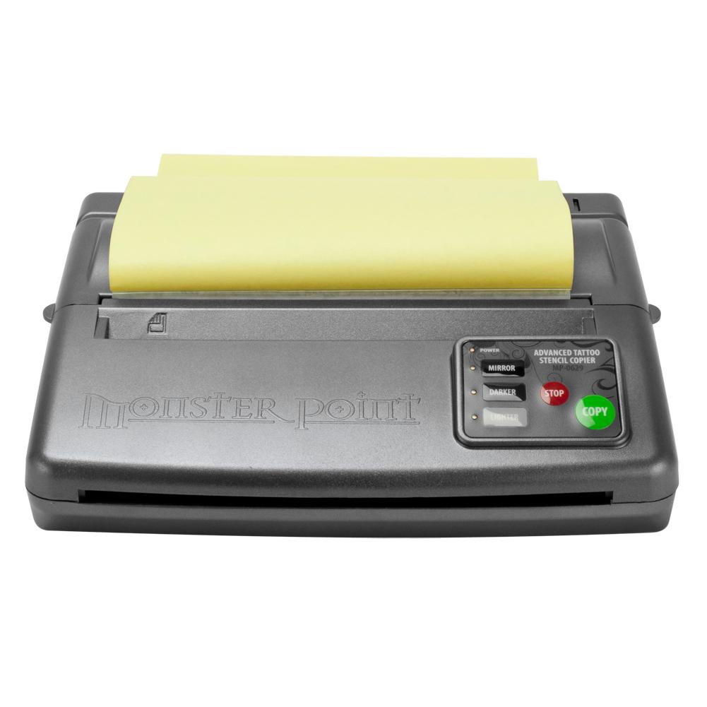 Tattoo drawing design thermal stencil copier flash printer for Tattoo stencil copier