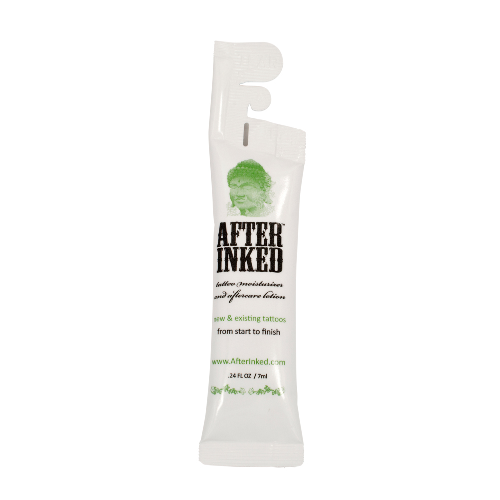 After inked tattoo aftercare skin moisturizer lotion 50 for Over moisturized tattoo