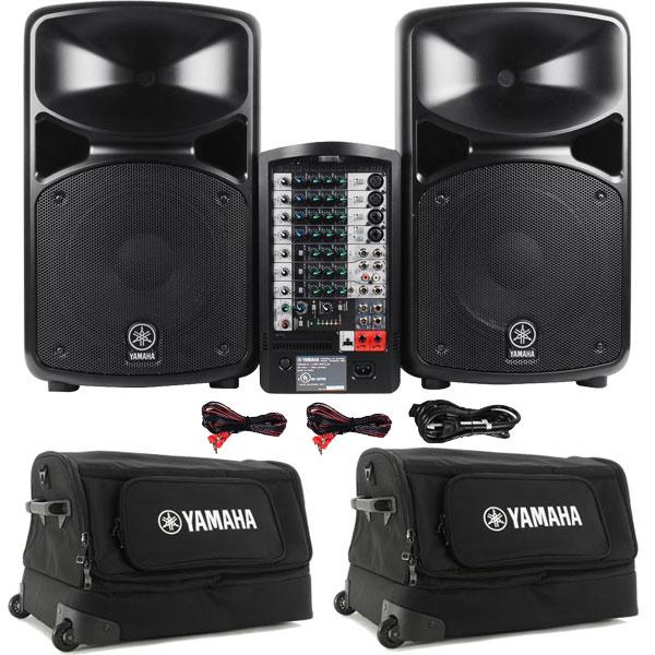 Yamaha Stagepas Portable Pa System Manual