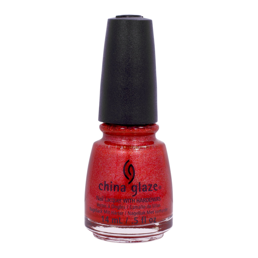 China Glaze Red Nail Polish: China Glaze 0.5oz Nail Polish Crimson Red Lacquer