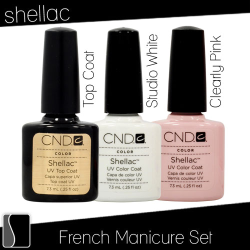manicure kit top coat color nail polish white pink gel salon top rated