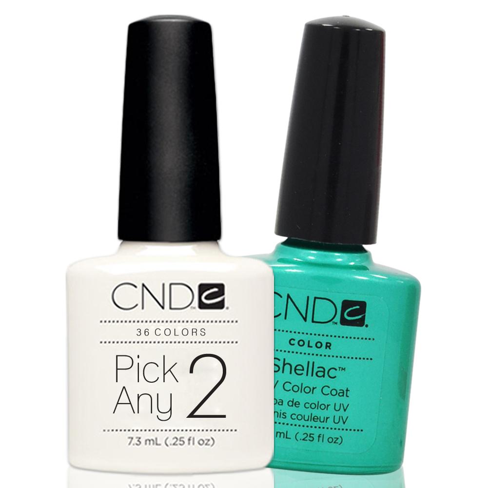 nail polish cnd shellac uv gel ounces manicure soak off color coat choose 2. Black Bedroom Furniture Sets. Home Design Ideas