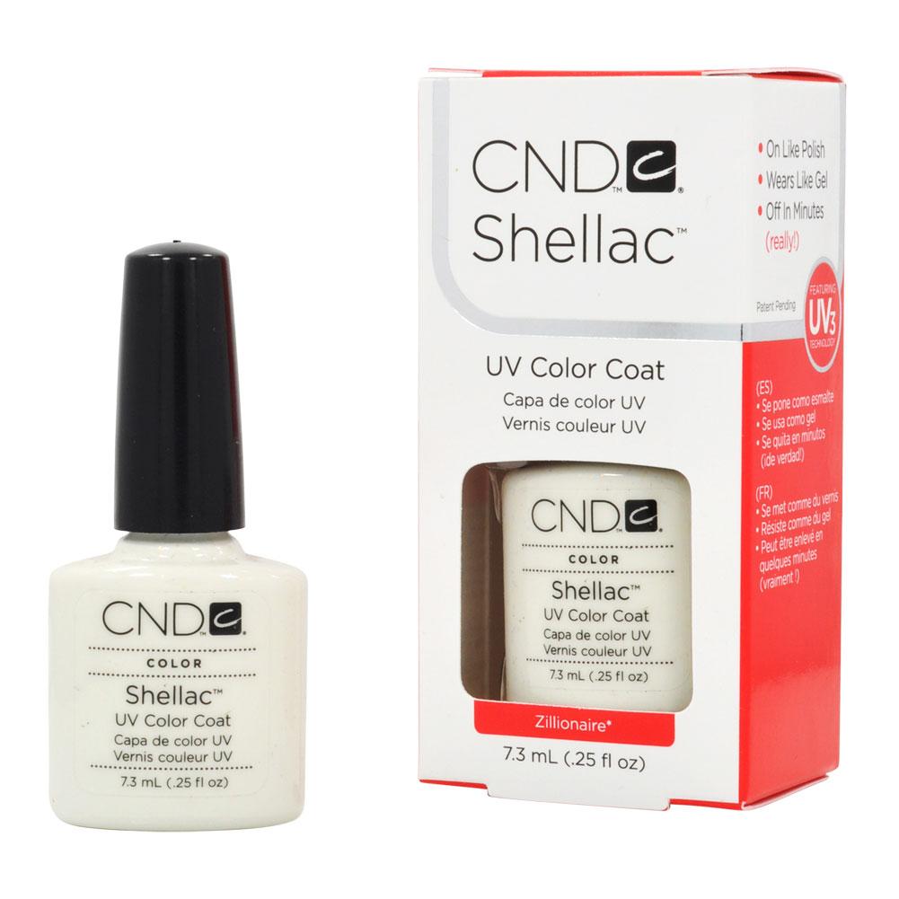 Nail Polish .25 oz Manicure Soak Off CND Shellac UV 40527 Zillionaire
