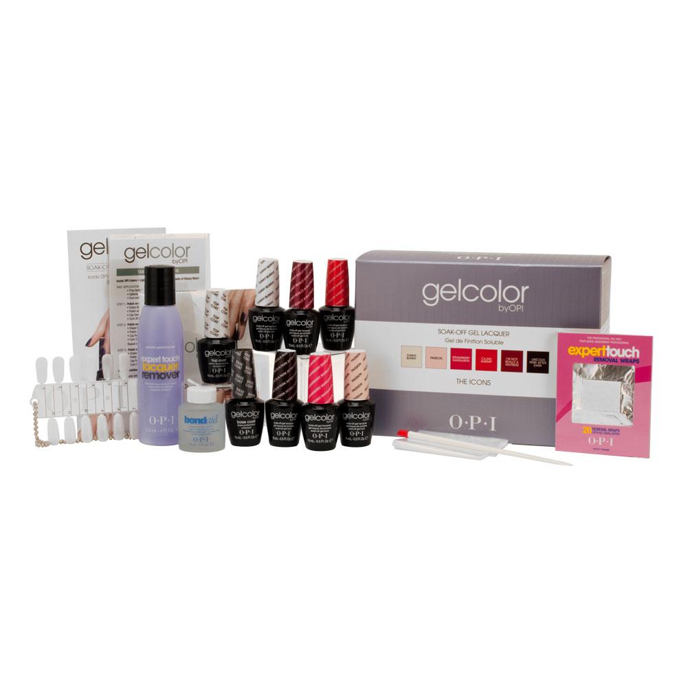 OPI Gel Cure Nail Polish Manicure Pedicure Professional Salon The Icon