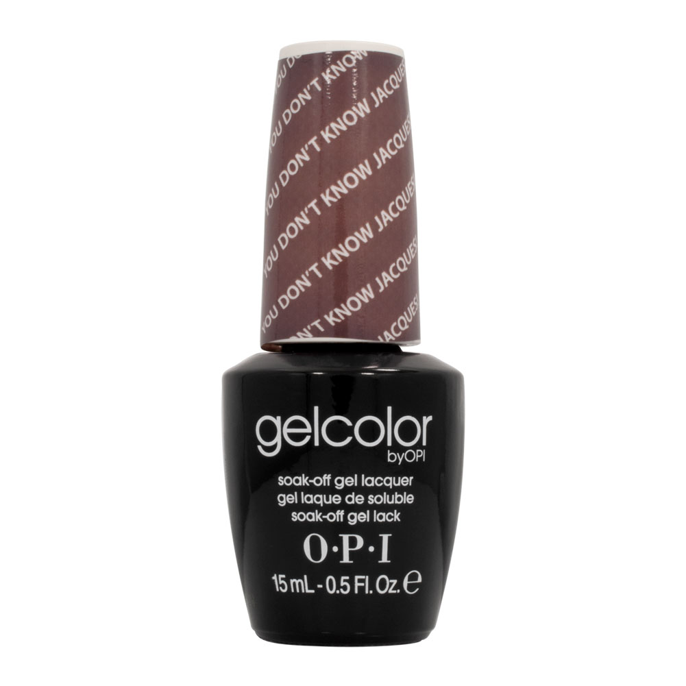 Opi Nail Polish Mauve Color: OPI GelColor Nail Polish Manicure Gel Mauve YOU DON'T KNOW