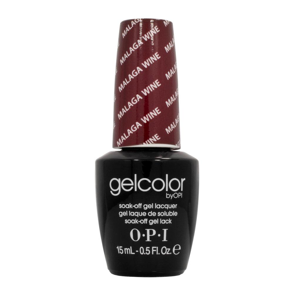 nail polish gel salon manicure led red malaga wine gcl87 0 5 oz salon