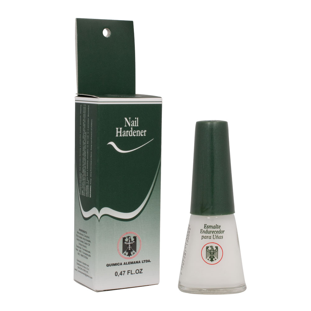 Best Nail Growth And Strengthener Polish: Quimica Alemana Salon Nail Hardener Strengthener Polish