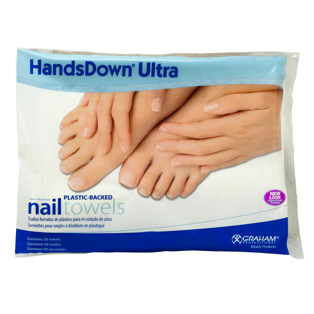 Ultra Nail Salon: 50 Sheets Graham Professional Beauty Products Salon Hands