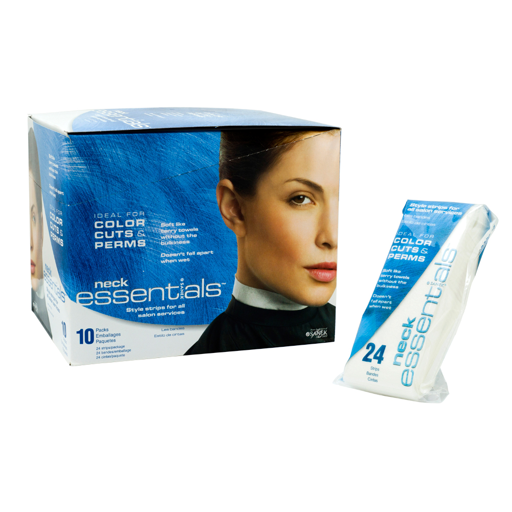 Barber Neck Strips : ... Neck Essentials Strips Salon Refill Hair Color Styling Barber Shop