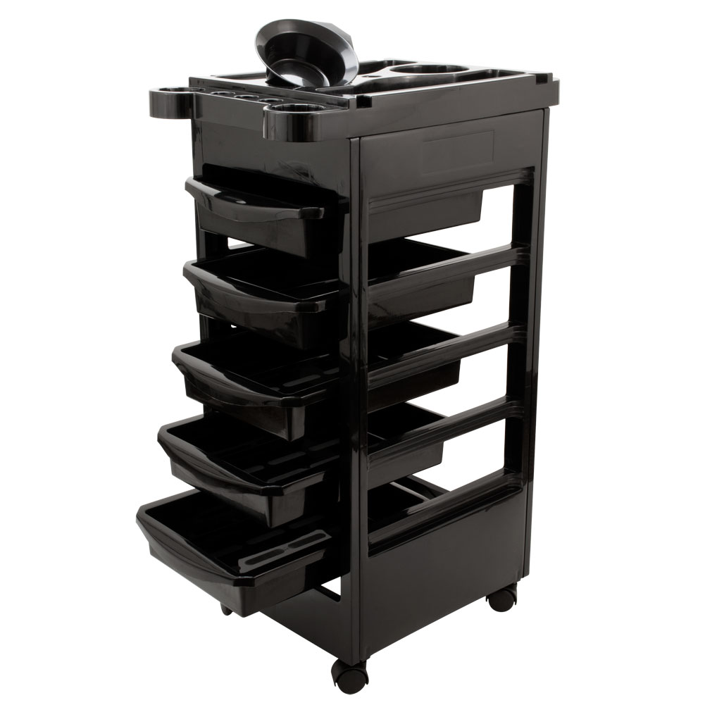 Salon spa trolley storage cart coloring beauty salon for Salon trolley
