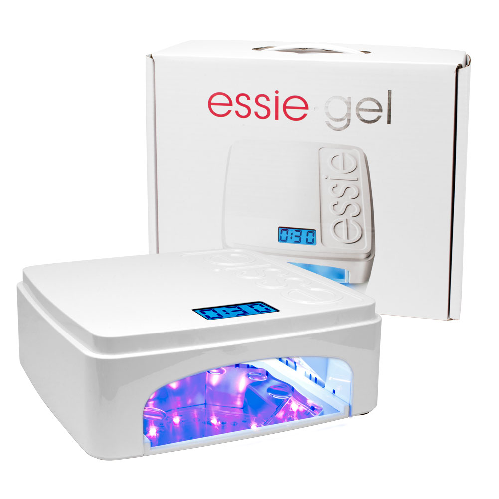 Essie gel professional manicure pedicure nail polish led lamp essie gel professional manicure pedicure nail polish led lamp adjustable tiimer parisarafo Images