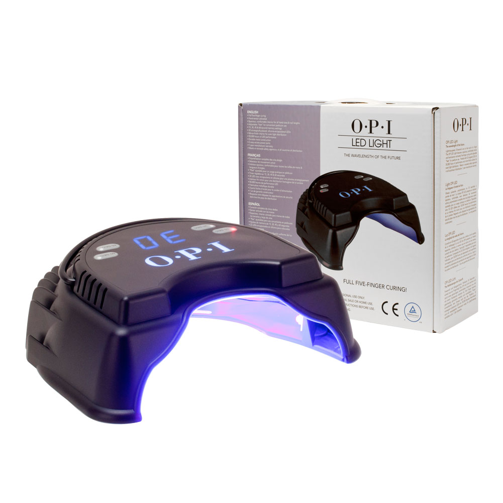 OPI LED Lamp Professional Salon Nail Manicure Pedicure Gel UV Cure