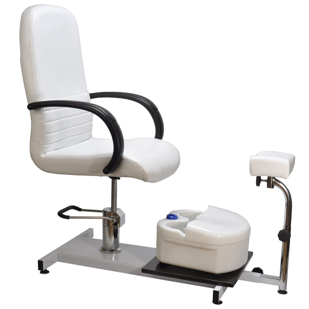 Hydraulic pedicure station chair salon spa equipment w for Nail salon furniture suppliers