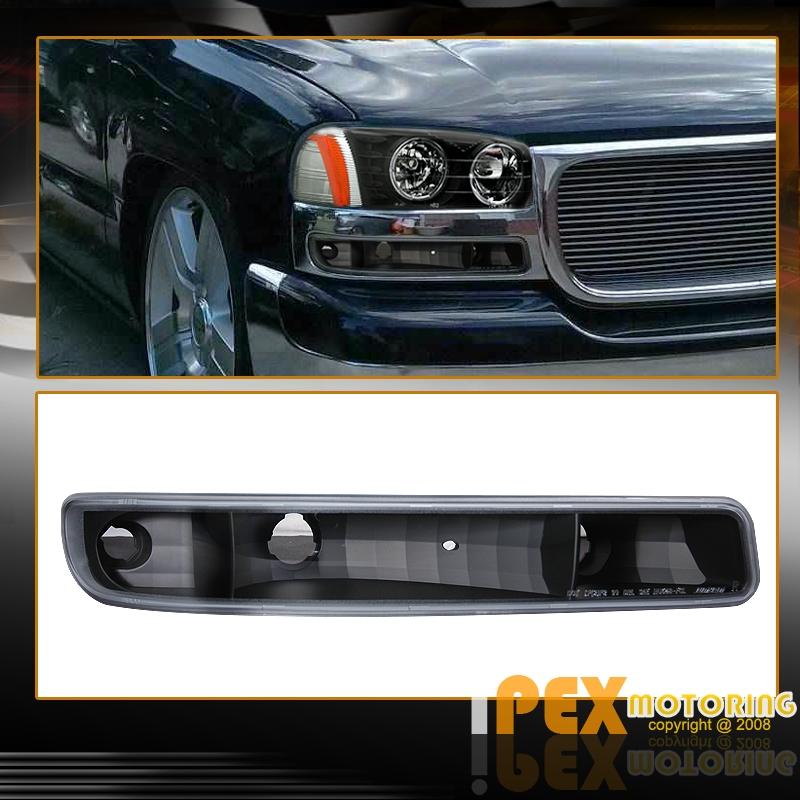 2005 2006 gmc sierra halo led headlights signal light tail light. Black Bedroom Furniture Sets. Home Design Ideas