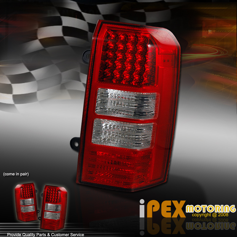 2007-2011 Jeep PATRIOT SUV ( Full LED ) Rear Tail Lights