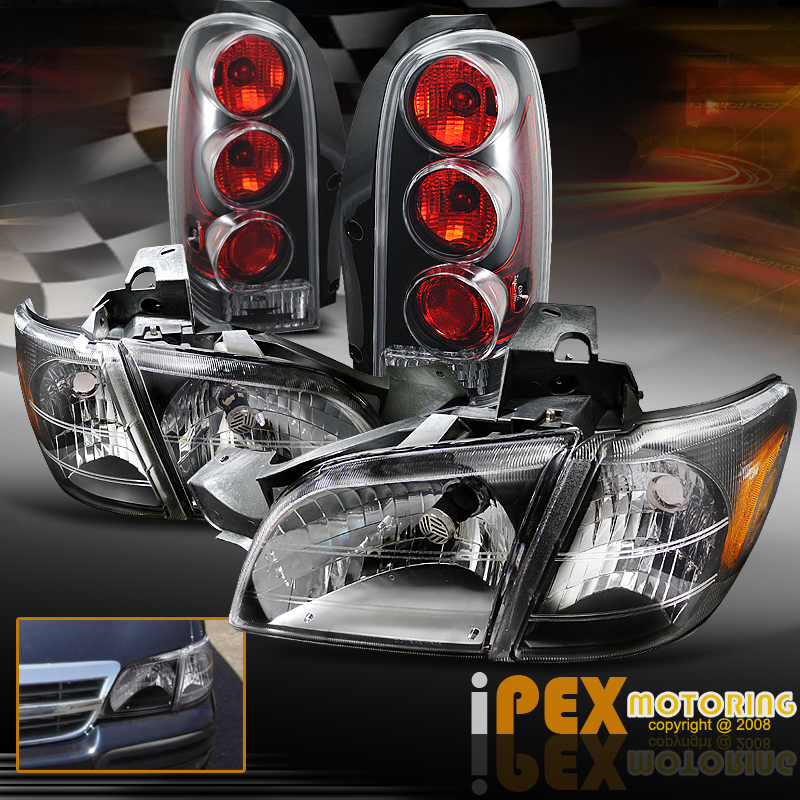 2005 Chevy Malibu Lights Not Working: 1997-2005 Chevy Venture/99-04 Montana Black Headlights