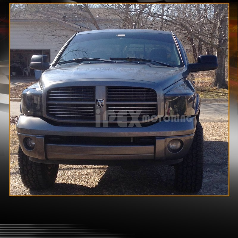 2006 2007 2008 dodge ram 1500 2500 3500 blackout smoke. Black Bedroom Furniture Sets. Home Design Ideas
