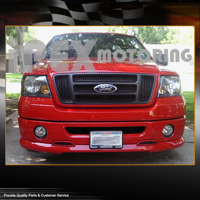 4 piece combo 2004 2008 ford f150 f 150 black headlights. Black Bedroom Furniture Sets. Home Design Ideas