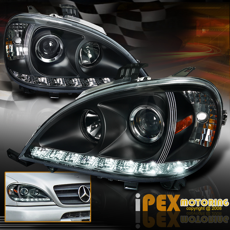 1998 2001 mercedes benz ml w163 ml320 ml430 led drl. Black Bedroom Furniture Sets. Home Design Ideas