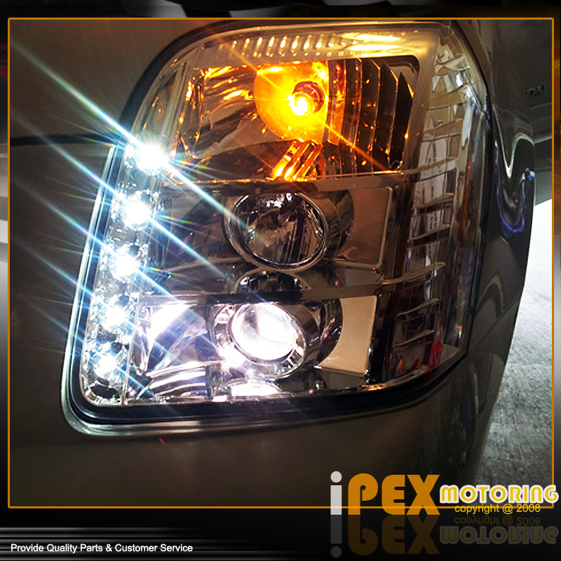 Brightest LED Projector Headlights For 2007-2013 GMC Yukon