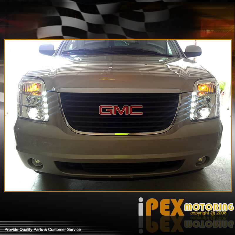 Brightest LED Projector Headlights For 2007-2013 GMC Yukon