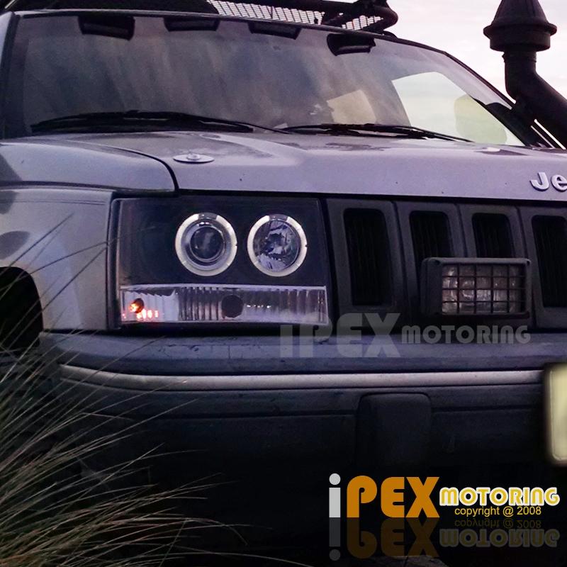1993 1996 Jeep Grand Cherokee Zj Halo Projector Led