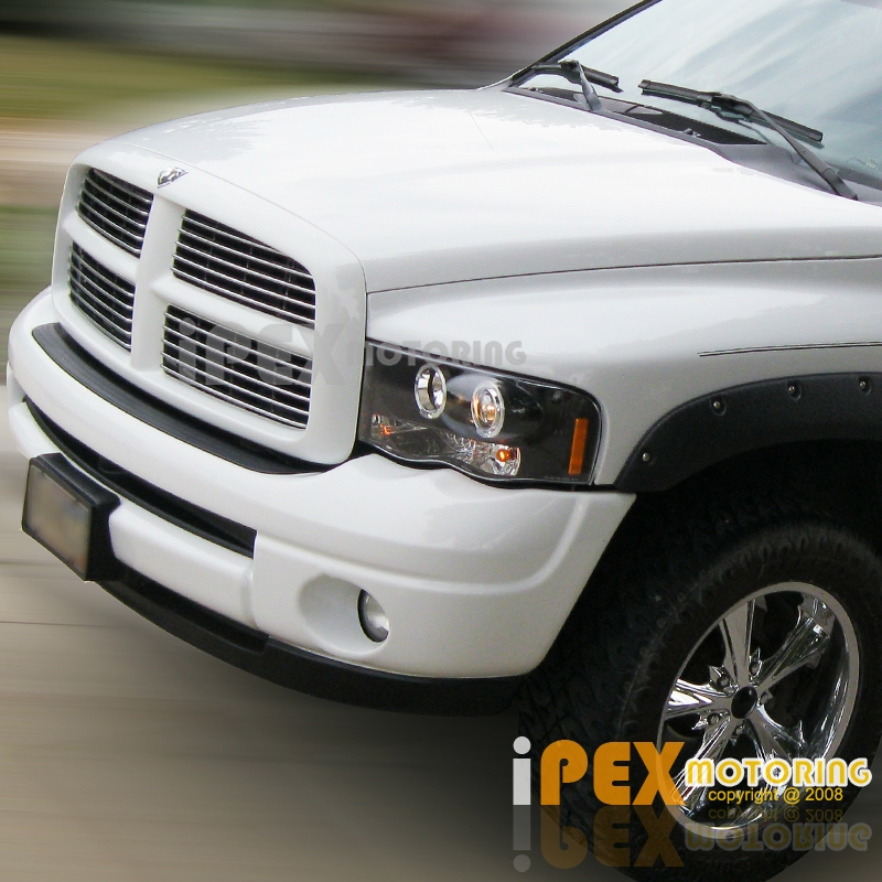 NEW For 2002-2005 Dodge RAM 1500 2500 3500 Halo Projector
