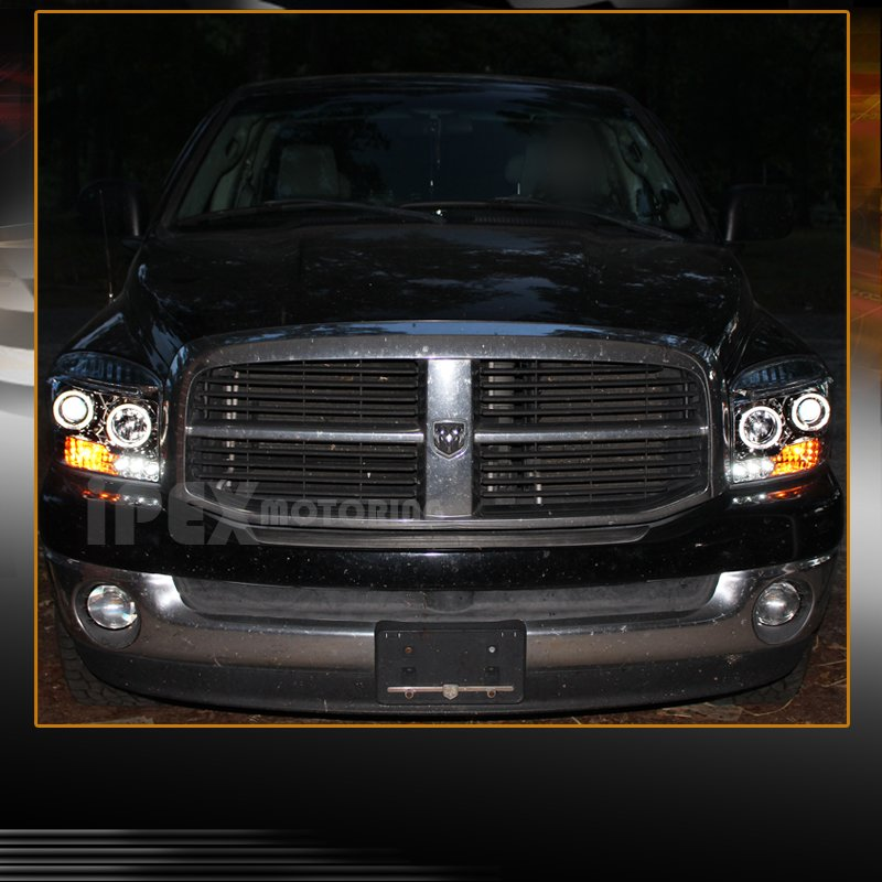 2006 2007 2008 dodge ram 1500 2500 3500 halo led projector. Black Bedroom Furniture Sets. Home Design Ideas