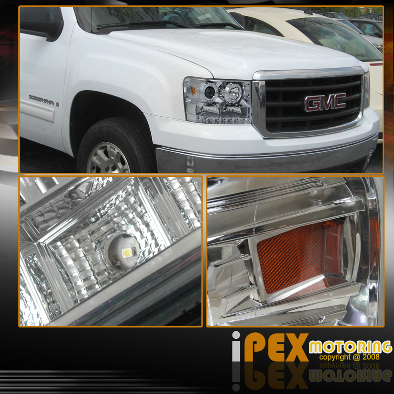 07-11 GMC SIERRA 1500 2500HD 3500HD (LED LIGHT+HALO