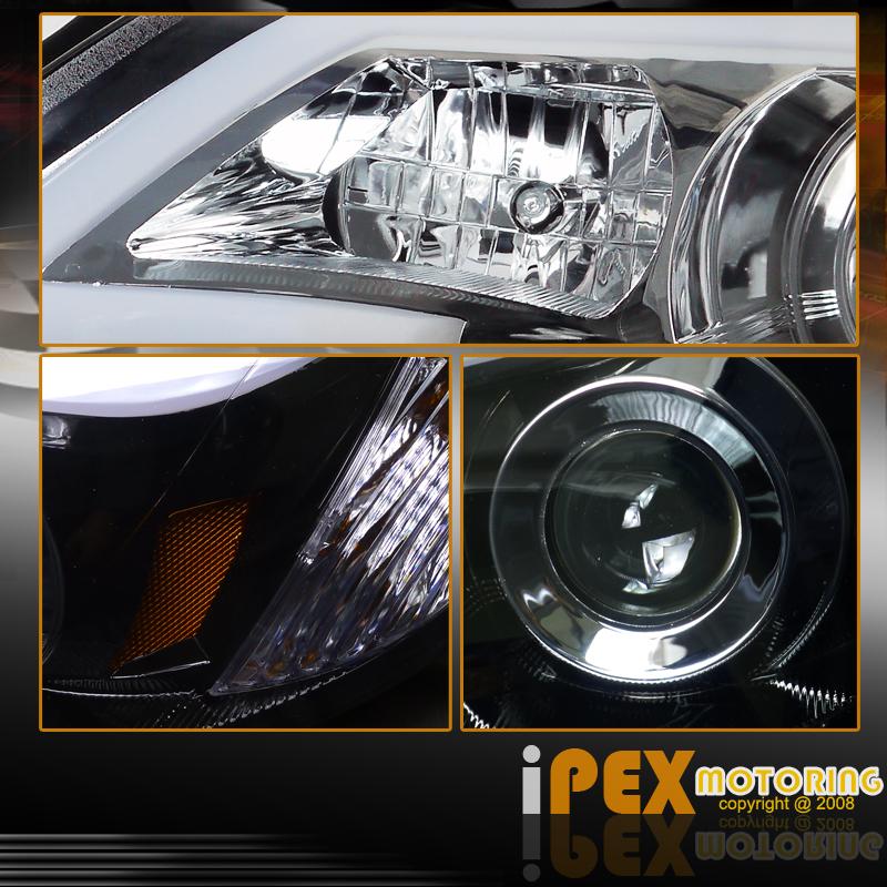 Raj D S 2014 Impreza Wrx Premium: Shiny Black 2008-2014 Subaru Impreza WRX Projector [Glow