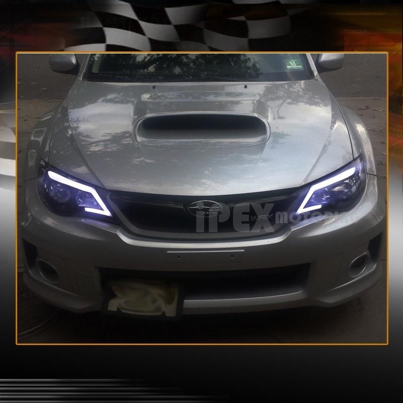 2008 2014 Subaru Impreza Wrx Projector Bright Glow Strip