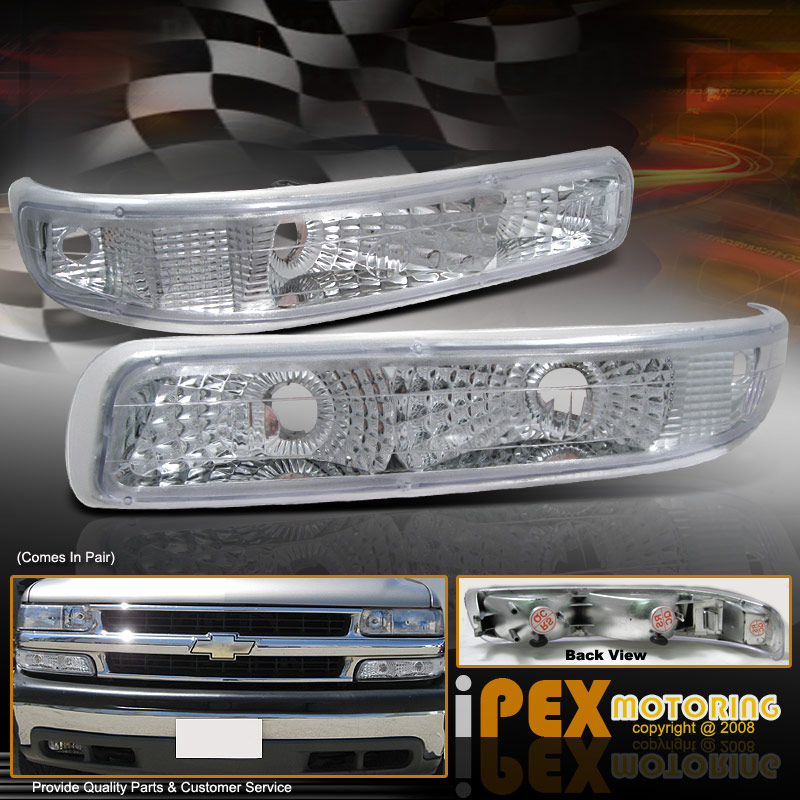 1999-2002 Chevy Silverado 1500 2500 Front Bumper Turn