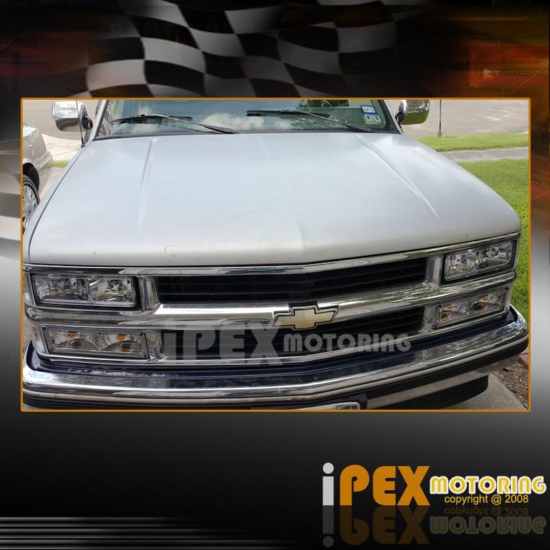 1998 Chevrolet Silverado Z71: 1994-1998 Chevy Silverado Tahoe C1500 C2500 K1500 Chrome