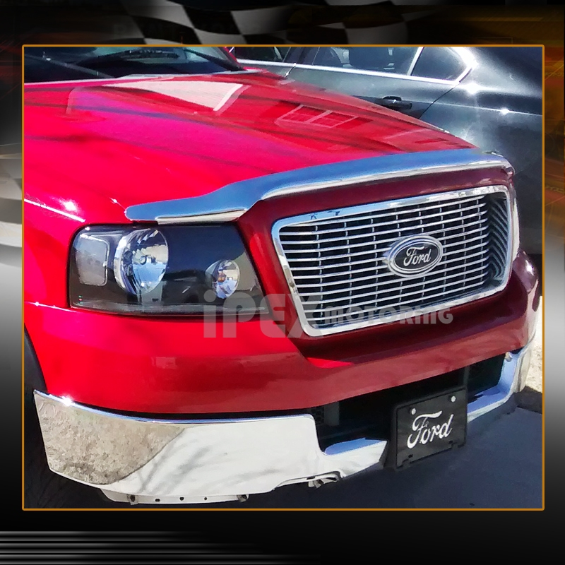 2006 2007 2008 ford f150 f 150 black headlights led smoke tail light. Black Bedroom Furniture Sets. Home Design Ideas