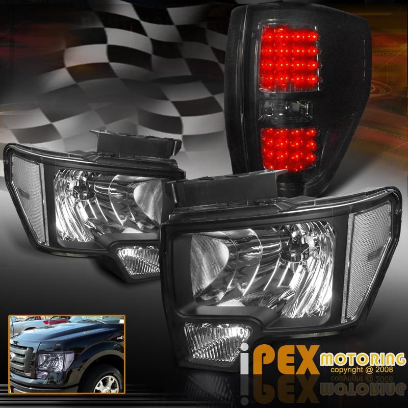 2009 2010 2011 2012 2013 2014 ford f150 black headlights. Black Bedroom Furniture Sets. Home Design Ideas