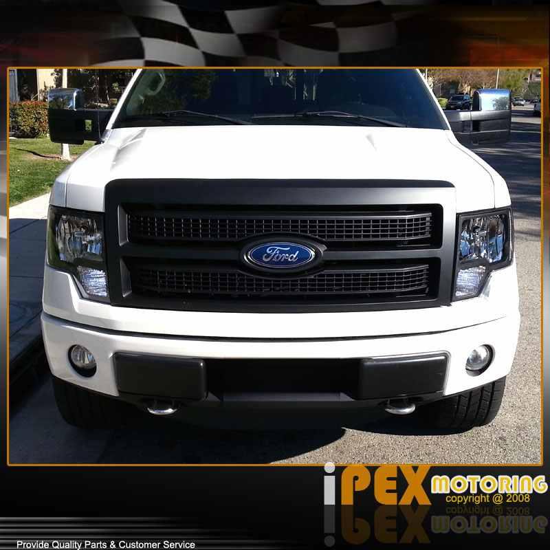 Used 2010 Ford F150: 2009 2010 2011 2012 2013 2014 Ford F150 Black Headlights