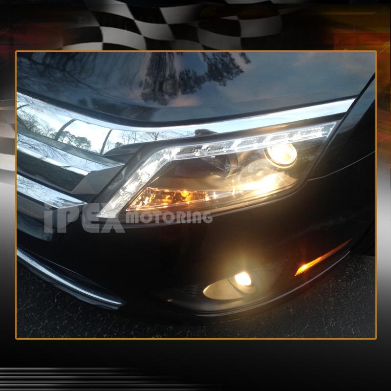 2010 2011 2012 Ford Fusion S/SE/SEL ULTRA LED DRL Bar ...