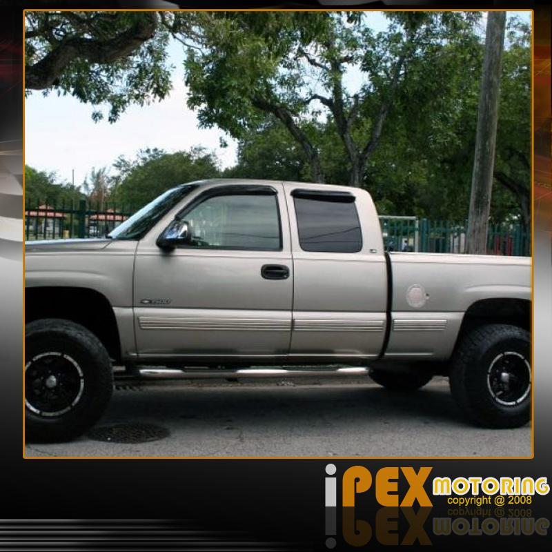 Chevy Silverado GMC Sierra 1500 2500 3500 [EXTENDED CAB] 3